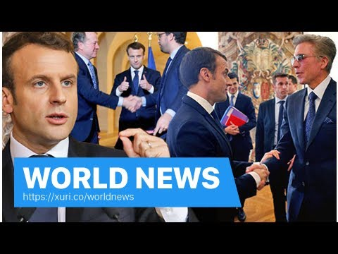 World News - Select ' France ' Emmanuel Macron trying to SNATCH business from the United Kingdom af