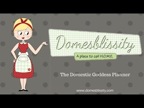 Domestic Goddess Planner