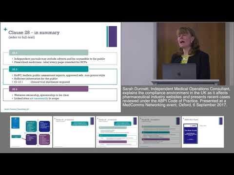 Pharma Websites And The ABPI Code