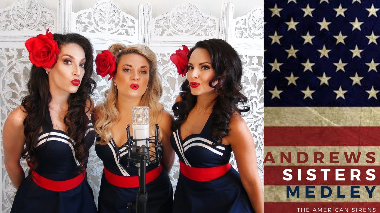 Andrews Sisters Medley- LIVE VOCALS- The American Sirens