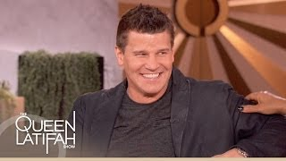 David Boreanaz on The Queen Latifah Show
