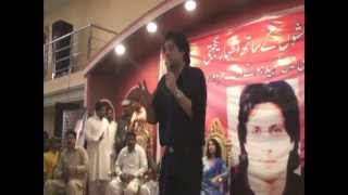 Jawad Ahmad Addressing the audience of workers concert in Toba Tek Singh April 23, 2013