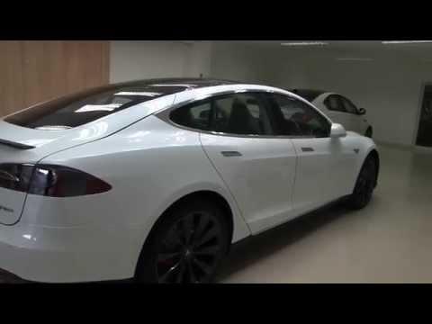 Tesla Model S in Thailand