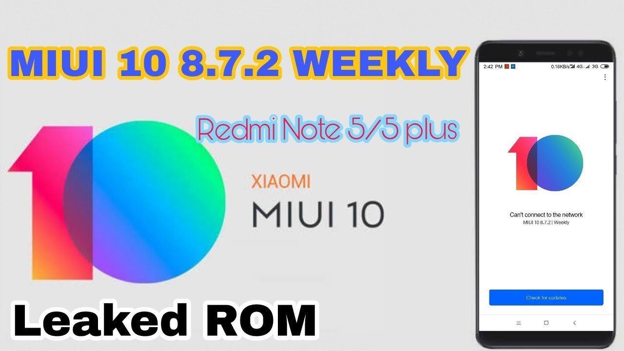 MIUI 10 first Closed Alpha build for Redmi Note 5/5 plus  | MIUI 10 | VINCE  | CHINA Rom |