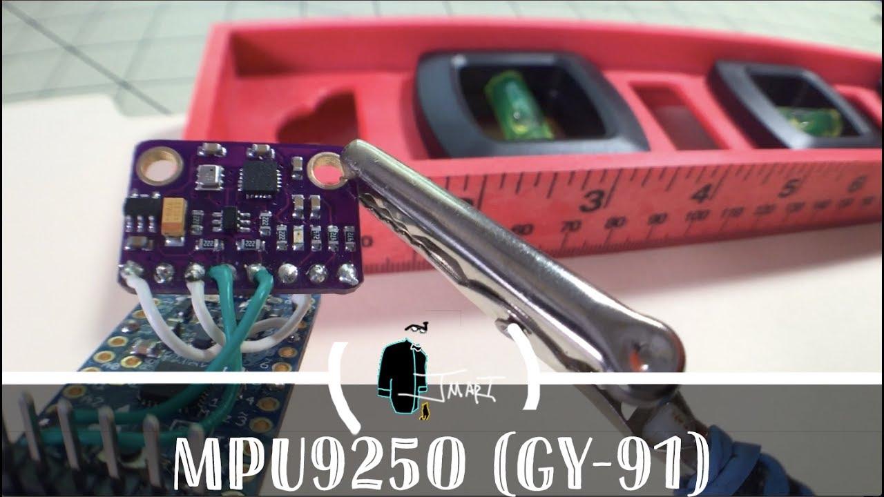 9 Axis IMU MPU9250 (GY-91)