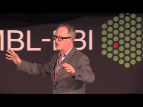 Robin Ince, science comedian, at EMBL-EBI