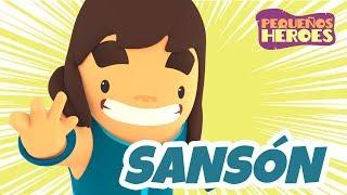SANSON 💪🏻 | PEQUEÑOS HEROES - Canciones infantiles cristianas