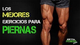 Los mejores Ejercicios para GANAR Masa Muscular - Piernas y Glúteos