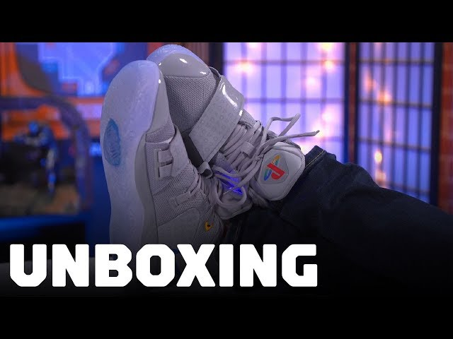 091a124a6b7 Unboxing the Nike PG 2.5 PlayStation Shoes - YouTube