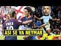Neymar no aguantó, se va furioso