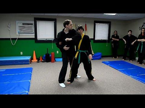 Shaolin Kempo Karate Combination 1 Part Three