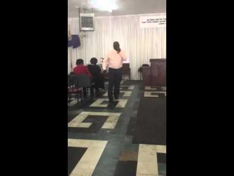 Service 3/8/2015 Pastor Jemison