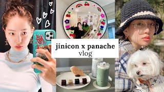 Eng sub) #광고 파나쉬 쥬얼리와 함께한 일상 VLOG : 성수동 거리, 봄 쇼핑, 도자기 만들기, 책…