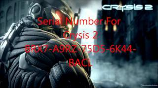 CRYSIS 2 - serial number.wmv