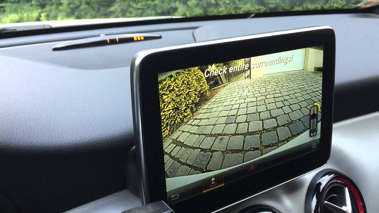 My mercedes benz cla 250 4matic amg sport parking for Mercedes benz parking sensors