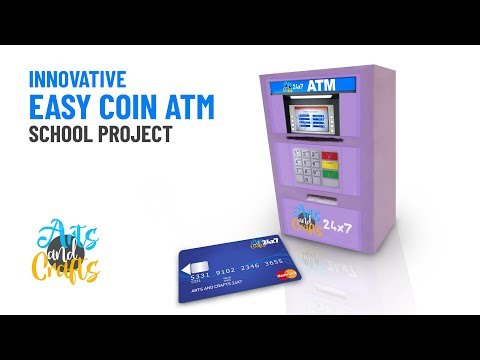 How to make Innovative Coin ATM | Innovative school project | DIY coin ATM | Do it yourself