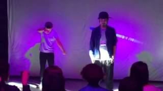 Funky G Tribe Popping show