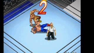Fire Pro Wrestling G (PSX) - Hogan Vs Sting (80