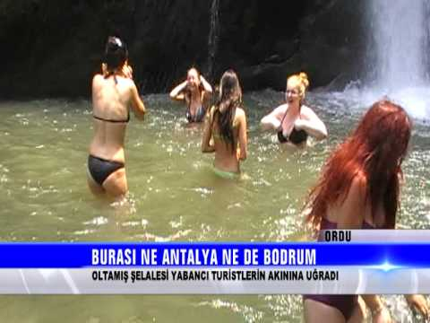 Ordu Ohtamış Şelalesi Haber Ahmet Bayrak ÇAY TV