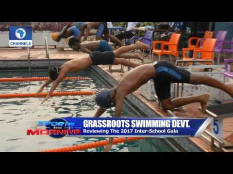 Sports This Morning: Grassroot Swimming Development  In Nige