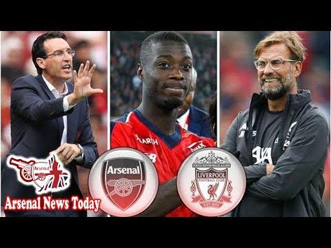 How Arsenal boss Unai Emery is copying Liverpool's Jurgen Klopp with Nicolas Pepe signing