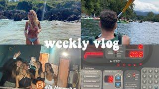 weekly vlog: aventuras en el río, cine y unboxings!