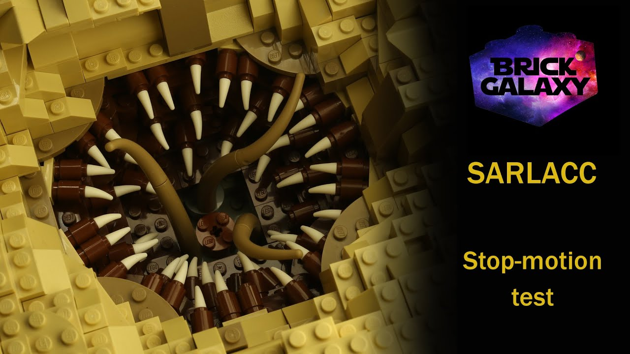 LEGO Star Wars: Sarlacc stop-motion test - YouTube