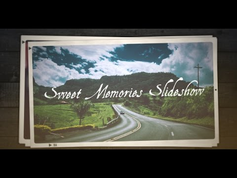 free after effects cs5 template - sweet memories slideshow - youtube, Presentation templates