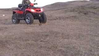 DELTA FORCE 600. ATV 550C.C. QUAD. 4X4.