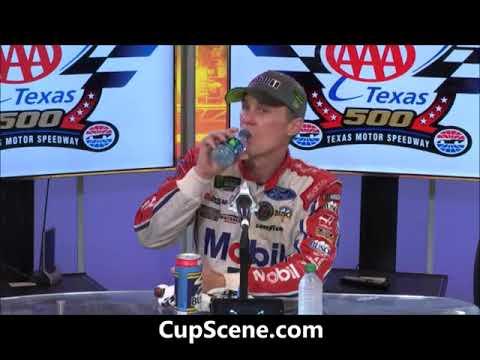 NASCAR at Texas Motor Speedway, Nov. 2017:  Kevin Harvick post race