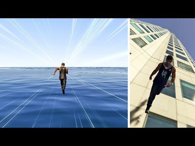 قراند 5 : لقد سافرت بسرعة أسرع من سرعة الضوء | GTA V More Than Speed of Light