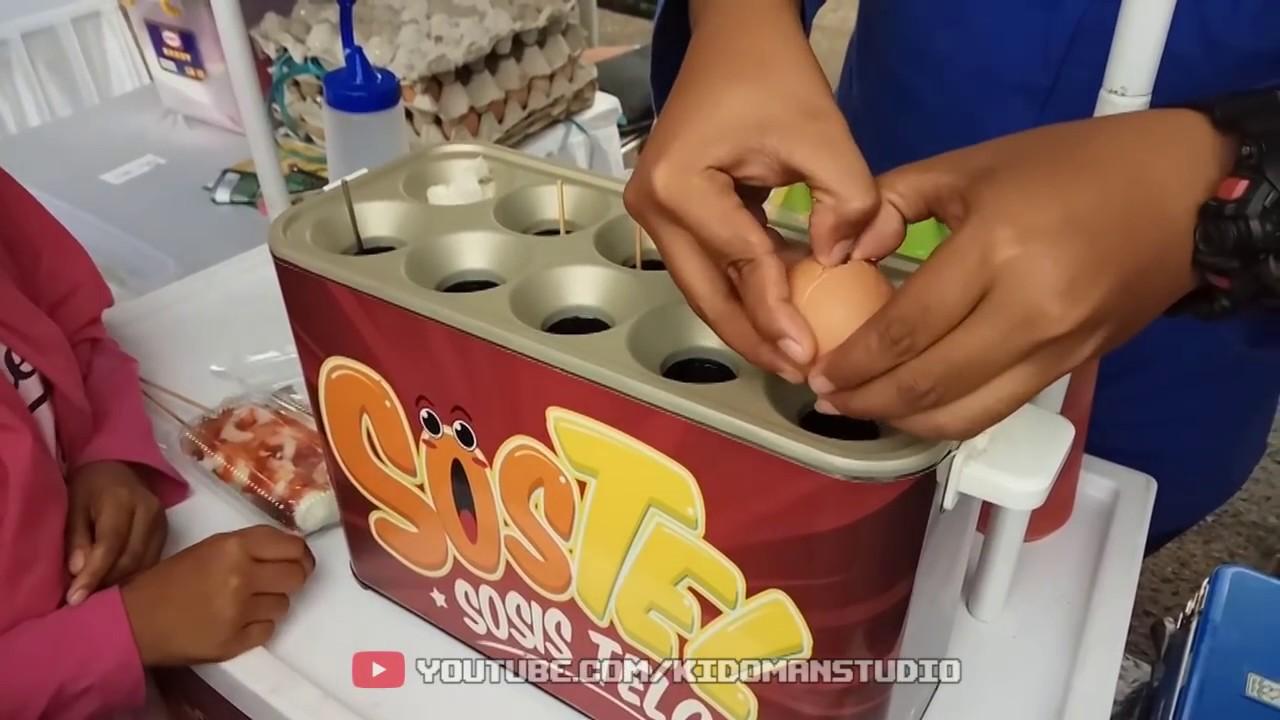 Sostel Cocok Untuk Usaha Jajanmen 6 Youtube Alat Sosis Telur 4 Lubang Mesin Lobang Egg Roll