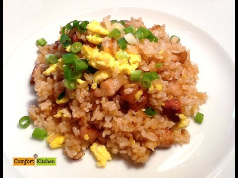How to make japanese style fried rice easy youtube how to make japanese style fried rice easy ccuart Choice Image