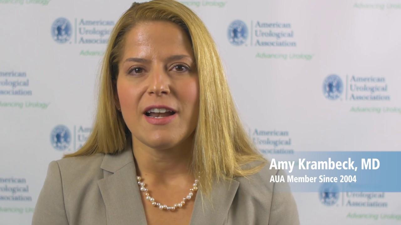 AUA Member Cam: Amy Krambeck, MD - Research Scientist