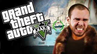 BOOM HEAD SHOT - GTA 5 Online Funny Moments