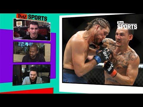 Brian Ortega Vs. Max Holloway Was EPIC | TMZ Sports