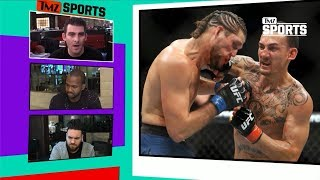 Brian Ortega Vs. Max Holloway Was EPIC | TMZ Sports
