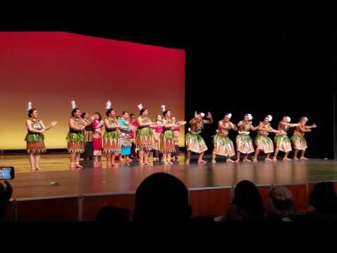 Asia Pacific Dance Festival 2017 Show #2 - Kanokupolu Dancers Lakalaka