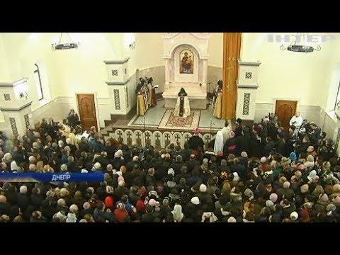 Католикос всех армян освятил фундамент самого большого храма Европы в Киеве и церковь в Днепре