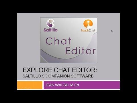 Explore Chat Editor: Saltillo's Companion Software