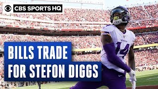 Bills trade first-rounder and multiple draft picks to Vikings for Diggs, per report | CBS Sports HQ