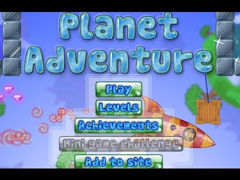 Planet Adventure Level 1-28 Walkthrough