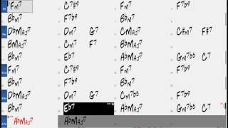 Smooth Airgin chord progression (no piano) - Backing Play Along The Real Book
