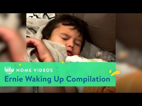Ernie Waking Up Compilation | Home Videos | HiHo Kids