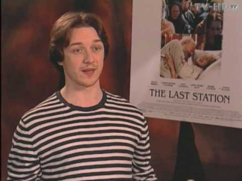 The Last Station - Exclusive Interviews with James McAvoy & Michael Hoffman