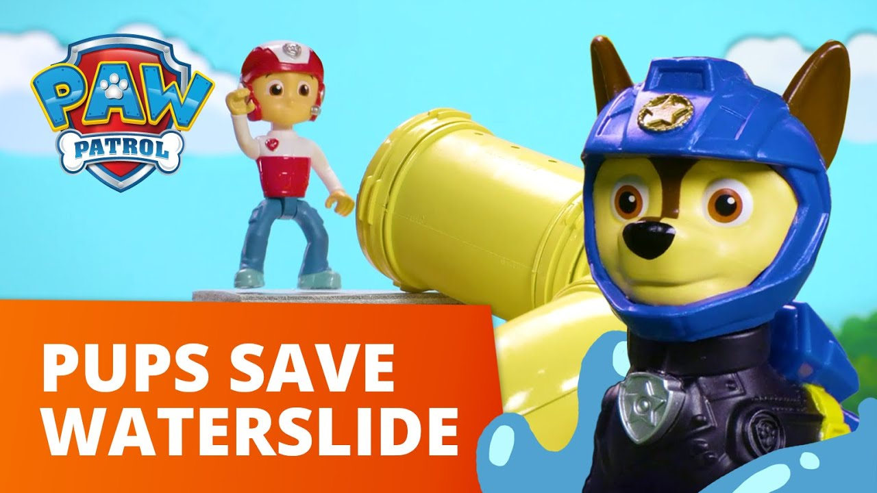 Download PAW Patrol Moto Pups Save the Water Park Grand Opening! Toy Episode - PAW Patrol Official & Friends