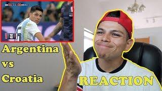 REACTION: Argentina vs. Croatia 0 - 3 | 2018 FIFA World Cup™ Highlights