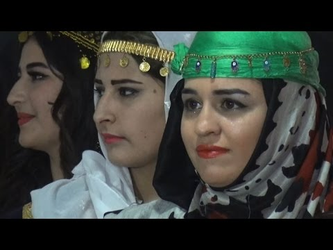 Syria's Kurds hit catwalk to promote traditional attire