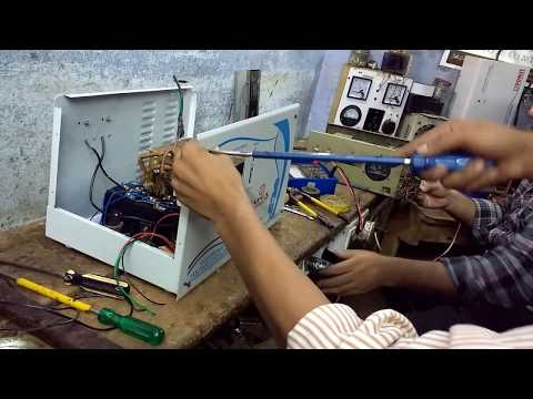 How To Make A Voltage Stabilizer (Part3)