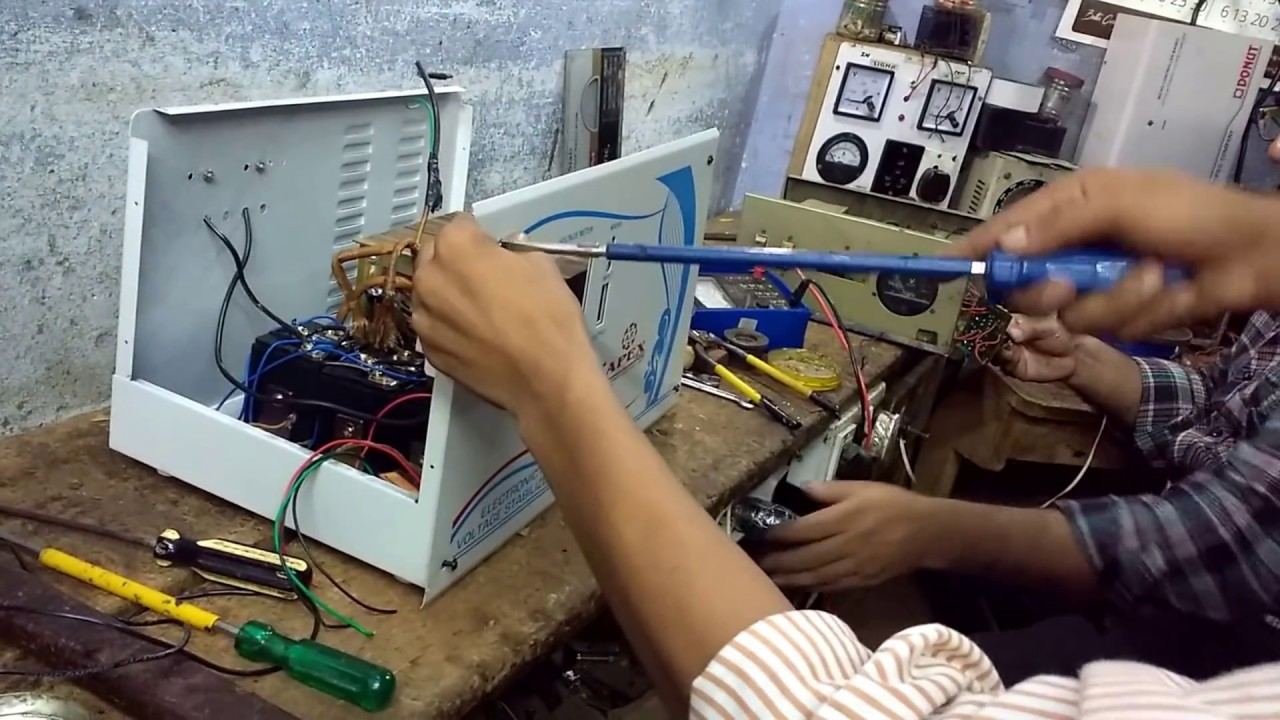 How To Make A Voltage Stabilizer Part3 Youtube